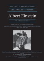 The Collected Papers of Albert Einstein, Volume 14