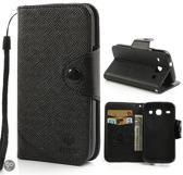 Mlt Wallet case hoesje Samsung Galaxy core i820 i8262 zwart