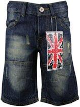 jongens Broek Dirkje Boys Bermuda 50S-16046BGB Jeans Blue Kids-152 2500598653629