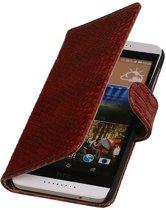 HTC Desire 626 Hoesje Slang Bookstyle Rood
