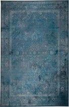 Dutchbone Rugged - Vloerkleed - Turquoise - 170x240 cm