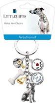 Little Gifts sleutelhanger Greyhound