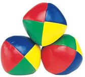 jongleerballen 3 stuks multicolor