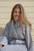 ARTG Robezz® Badjas met Sjaalkraag – Light Grey – Maat L/XL