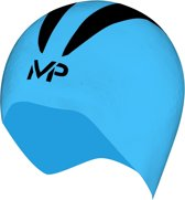 Aqua Sphere X-O Cap - Badmuts - M - Blauw/Zwart
