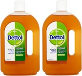 2 X Dettol Reinigingslotion Antiseptic Disinfectant Liquid Lotion