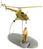 Kuifje helikopter C 04 van het leger van San Theodoros