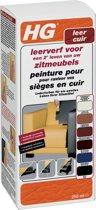 HG Leerverfkit - Onderhoud leer - Crème wit - 500 ml