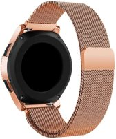 Just in Case Samsung Galaxy Watch 42mm Milanees armband - Rose Gold