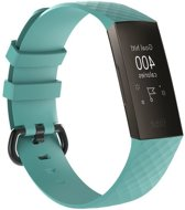 By Qubix Siliconen bandje - Fitbit Charge 3 - Groen - Large