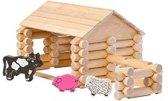Varis Toys - Constructie Set - 77 delig - Boerderij