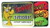 Yeowww Stinkies Catnip Sardientjes In Blik - 7.5 CM X 3 ST (3 stuks)