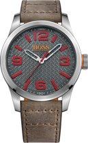 Hugo Boss Orange HO1513351 Horloge - Leer - Bruin - Ø 47 mm