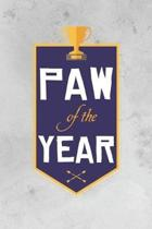 Paw Of The Year