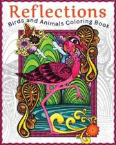 Reflections: Birds and Animals Coloring Book