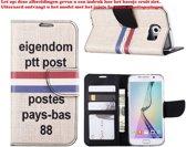 Xssive Hoesje voor Apple iPhone 4 /4s - Book Case PTT Post
