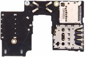 iPartsBuy for Motorola Moto G (3rd Gen.) (Single SIM Version) SIM Card Socket + SD Card Socket