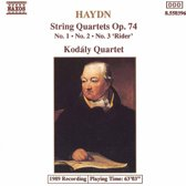 Haydn: String Quartets Op.74