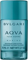 Bvlgari Aqva Marine deodorant stick 75 ml