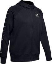Rival Fleece Sportstyle LC Sleeve Graphic FZ Hoodie Dames Sporttrui