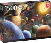 Planeten in de ruimte Puzzel 1500 stukjes