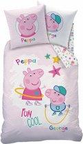 Peppa Pig Recreation - Dekbedovertrek - Eenpersoons - 140 x 200 cm - Multi