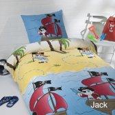 Day Dream dekbedovertrek Jack - eenpersoons - 140x200 - Blauw