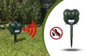 Ultrasone Kattenverjager - Anti Muizen Katten Honden Verjager Op Batterij - Muizenverjager Ultrasoon