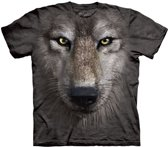 The Mountain T-shirt Wolf Face S
