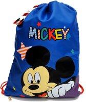 Mickey Mouse Sterren Zwemtas Sport Tas Gym tas School Rugzak Rugtas Peuter Kleuter Blauw Cool!