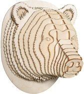 Stewart Wooden Bear Head (Small)