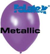 Ballonnen Metallic Paars 30 cm 25 stuks