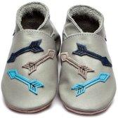 Inch Blue babyslofjes arrows grey