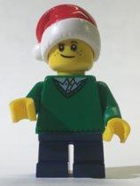 LEGO Kerst jongetje minifiguur HOL112