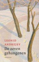 Boek cover De zeven gehangenen van Leonid Andrejev (Hardcover)