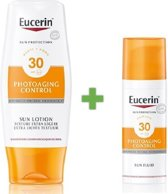 Eucerin Photoaging Control Sun Lotion Extra Light SPF30 & Sun Fluid SPF30 Promopakket