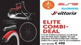 Elite Qubo Digital Fietstrainer Smart B+ Pack Interactief