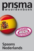 Prisma woordenboek Spaans - Nederlands