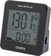 Cresta Zendergestuurde digitale wekker BLA210 Zwart