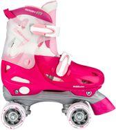 Roze rolschaatsen maat 30, 31, 32, 33