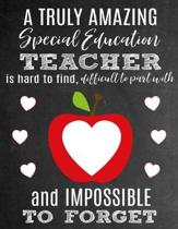 A Truly Amazing Special Education Teacher Is Hard to Find, Difficult to Part with and Impossible to Forget