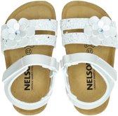 Nelson Kids meisjes sandaal - Zilver - Maat 28