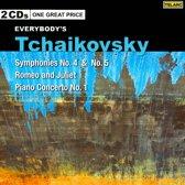 Symphonies Nos. 4 & 5/Romeo & Juliet/Piano Concert