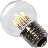 Tronix Led lamp LED kogel 1w wit