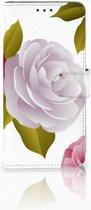 Samsung Galaxy S10 Plus Uniek Boekhoesje Roses