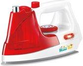 Gerardo's Toys Kinderstrijkijzer Sproeifunctie 18 Cm Rood/wit