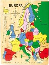 Small foot Houten puzzel europa
