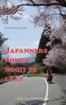 Omslag van 'Japanners komen nooit te laat'