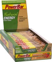 PowerBar Natural Energy Fruit & Nut Bar Apple Strudel 24*40 g