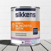 Sikkens-Rubbol-BL Rezisto Satin-Ral 9010 Gebroken Wit-1 Liter